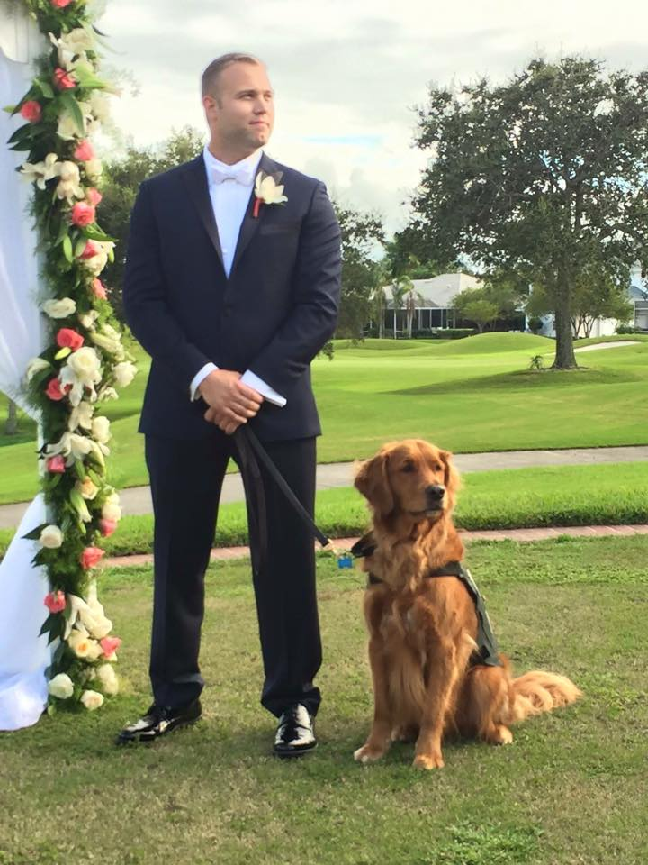 service dog as best man