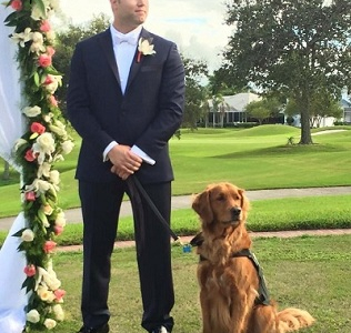 dog best man